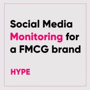 Social Media Monitoring for a FMCG Brand in Bangladesh